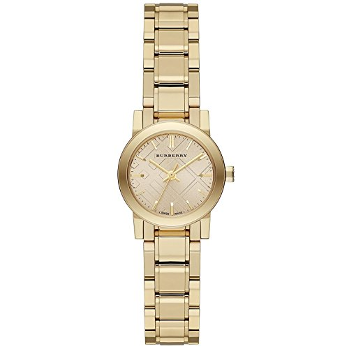 "Burberry BU9145 Damen-Armbanduhr mit Gravur ""The City"""