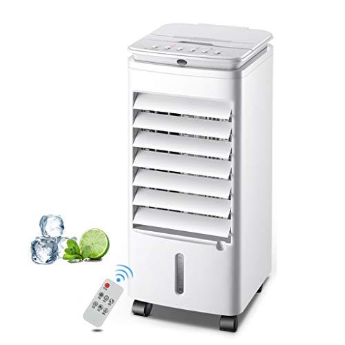 3in1 Aircooler | 4Liter | 3 Modi | 3 Stufen | Oszillierend | Klimagerät | Mobile Klimaanlage | Luftreiniger | Ventilator | Luftkühler | Luftbefeuchtung | Klima Anlage | Standventilator,56w,7Stunden