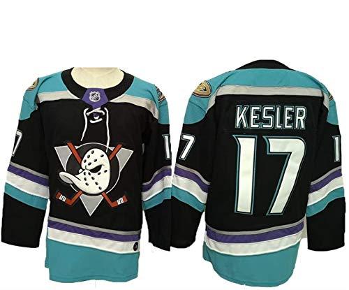 Eishockey-Trikots, Corey Perry # 10 / Ryan Getzlaf # 15 / Ryan Kesler # 17 Anaheim Enten Eishockey Jerseys NHL Männer Und Frauen Sweatshirts Atmungsaktives Langarmes T-Shirt