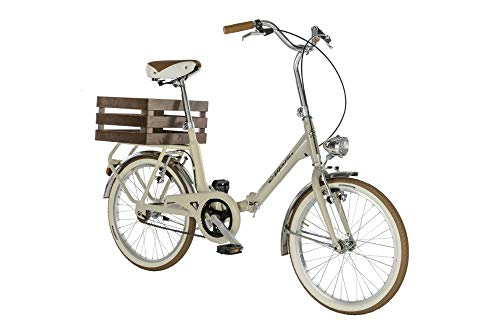 "Alpina Bike Camping 20"", Bicicletta Unisex Adulto, Crema, 1v"