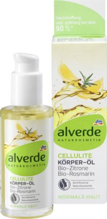 alverde Natural cosmético körperöl Celulitis bio de limó