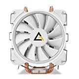 Antec CPU Cooler, C400 Glacial 120mm Pure White LED for Intel LGA 775/1150/ 1151/1155/ 1156/1366/ 2011/2066 & AMD Socket FM2/ FM1/ AM3+/ AM2 +/ AM2/ AM4