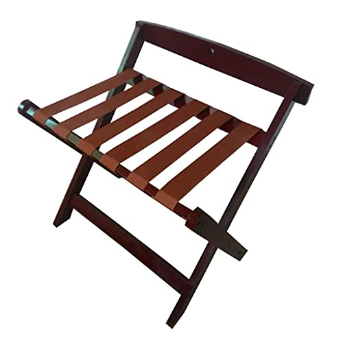 N/Z Home Equipment Luggage rack Luggage Rack Hotel Room Foldable Solid Wood Luggage Compartment Hotel Luggage Rack Shelf Suitcase Backpack For Bedroom