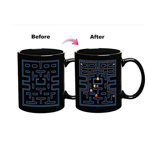HOPI Kleur veranderende beker hebzuchtige slang spel theekop thermische beker keramische drank melk koffiekop