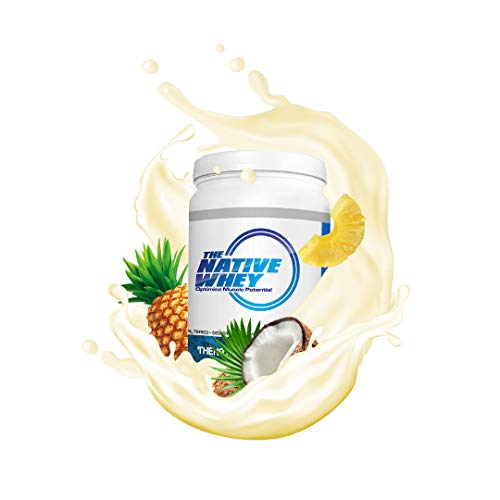 The Native Whey Protein 500g - Micro Filtered Whey Protein Isolate (Pina Colada)