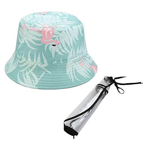 FEOYA Verano Sombrero de Sol Mujer Sombrero de Pescador Plegable al Aire...