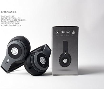 iJoy, Matte Finish, Premium, Rechargeable Wireless Headphones
