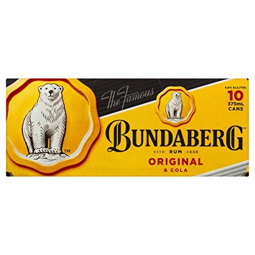 Bundaberg Original Rum and Cola 375 ml (Pack Of 10)