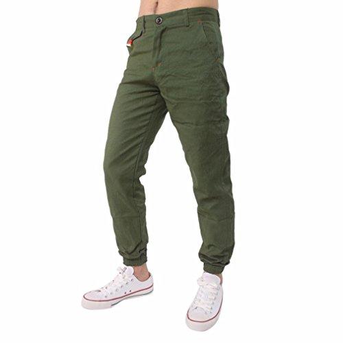 Dasongff heren joggingbroek sweatbroek, slim fit joggingbroek, vrijetijdsbroek, comfortabele broek met balgtassen