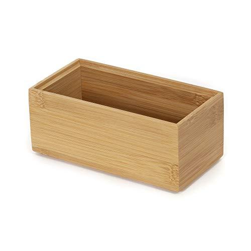 COMPACTOR Schubladen-Organizer - Aufbewahrungskiste aus Holz