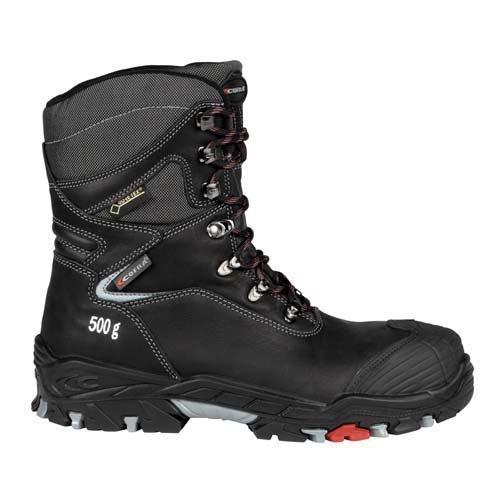 Cofra 17210-000.W41 skor,Mjosa, storlek 7,5, svart - EN säkerhetscertifierade