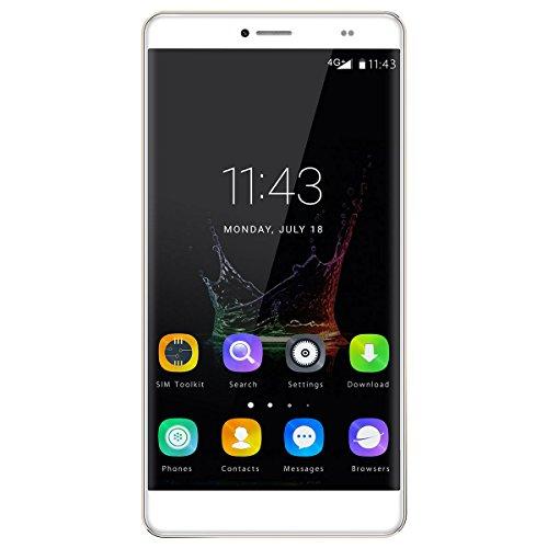JNTworld Bluboo Maya Max Smartphone 6.0 Inch 32GB ROM Android 6.0, 3GB RAM, Octal-core 1.5 GHz Processor,Golden