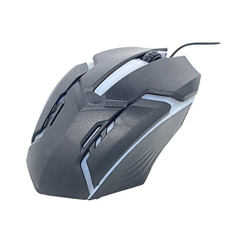 Wired Mouse USB Optical Gaming Mouse 12 programmable Buttons Computer Gaming Mouse 4 Adjustable DPI 7 LED Light Mouse
