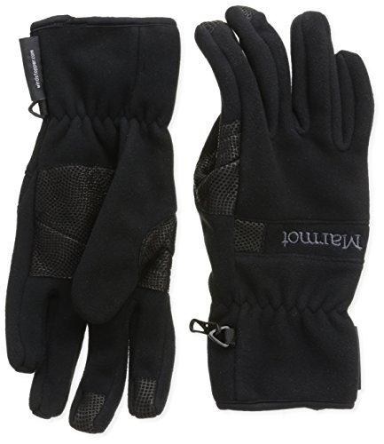 Marmot Herren Handschuhe Windstopper, Black, S