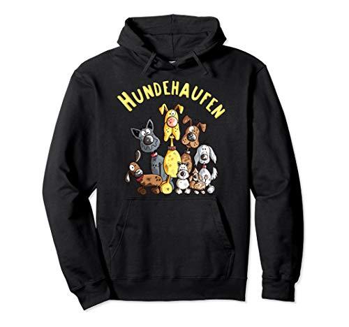 Funny Hundehaufen I Hunde Team I Hund Sprüche I Fun Geschenk Pullover Hoodie