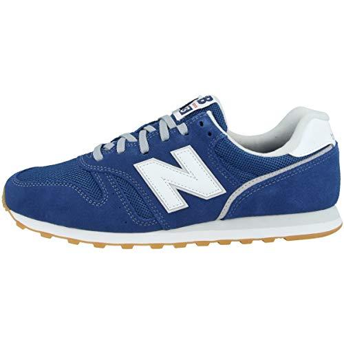 New Balance Herren 373v2 Sneaker, Blau (Blue/White Df2), 44.5 EU