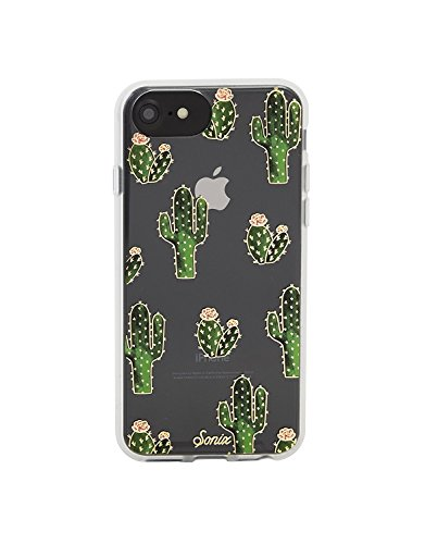 Sonix Prickly Pear Case [Drop Test Certified] Protective Clear Cactus Case for Apple iPhone 6, iPhone 6s, iPhone 7, iPhone 8, iPhone SE