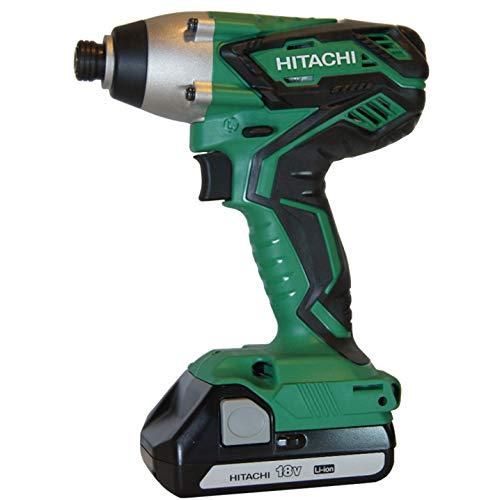 Hitachi WH18DGL 18-Volt 1/4-Inch Cordless Lithium...