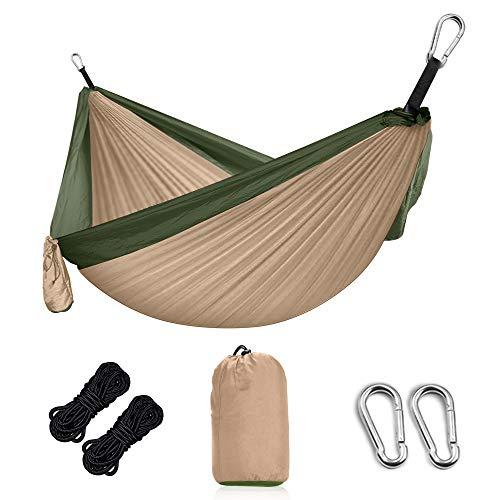 amaca hammock Grassman Hammock Amaca da campeggio ultraleggera per esterni con cinghie per alberi e moschettone