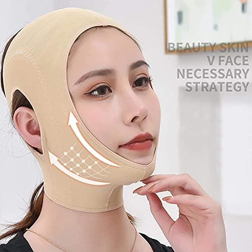 NYZXH Lift V Face Shaper Mask Facial Adelgazamiento Vendaje Chin Cheek Lift Up Cinturón Anti Anstromy Strap Beauty Cuello Thin Lift Care Herramientas de Cuidado de la Cara