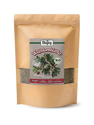 Biojoy Feuilles d'aubépine BIO - séché et haché (Crataegus Monogyna) (250 gr)