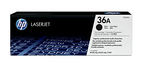 HP 36A (CB436A) Original Toner (für HP Laserjet M1120, HP Laserjet M1522) schwarz
