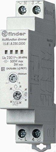 Finder 158182300500PAS Dimmer, modular, Schienenmontage, 35 mm, 500 W, 230 VAC