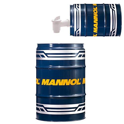 MANNOL 60 Liter Garagenfass + Auslaufhahn Hypoid Getriebeoel 80W-90 API GL 4/GL 5 LS
