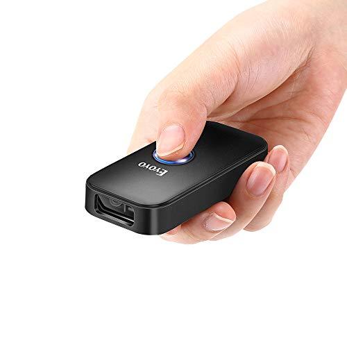 Eyoyo Escáner Lector Código de Barras, Mini CCD Bluetooth Inalámbrica 3-en-1 Bluetooth...