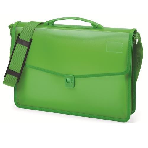 Niji 60864 Cartella, 38 cm, Verde