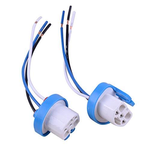 CITALL 2 9007 9004 adaptateur de câblage de phare faisceau de connecteur queue fibre femelle prise ampoule