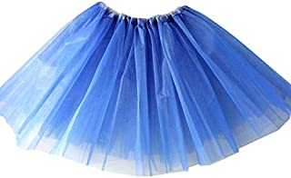 RONSHIN MeterMall Women Gauze Tutu Skirt Short Dance Skirt 3 Layers Pleated Pettiskirt for Ladies