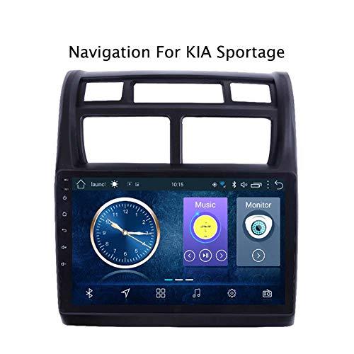 Android 8.1 Car Radio de navegación GPS Para KIA Sportage 2007-2013 | 2 DIN | 9 pulgada | Pantalla LCD Táctil | DVD | USB | WLAN | 4.0 Bluetooth,Wifi:1+16g