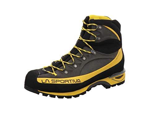LA SPORTIVA Trango ALP EVO GTX, Botas de montaña Hombre, Grey/Yellow, 42 EU
