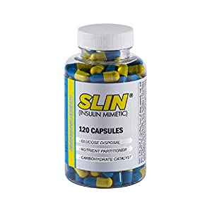 Enhanced Athlete - SLIN Carb Converter - Insulin Mimetic & Glucose Disposal Agent for Loading Carbs into Muscle Tissue (120 Capsules)