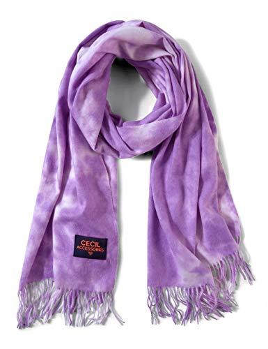 Cecil Damen Mode-Schal, Soft Violet, A