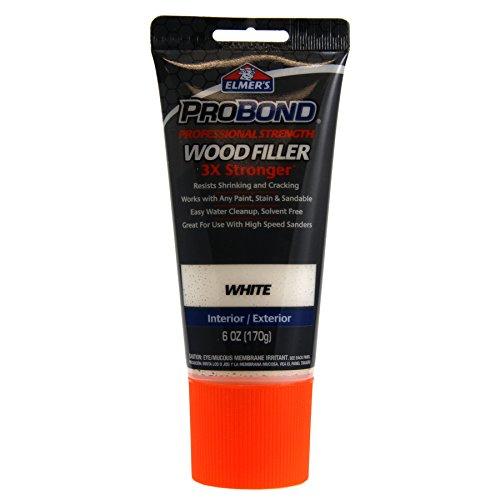 Elmer's E8110 (White) ProBond Professional Strength Wood Filler Interior/Exterior 6 OZ