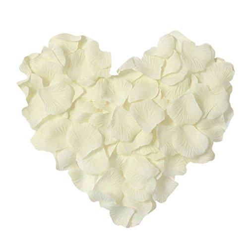 Neo LOONS 1000 Pcs Artificial Silk Rose Petals Decoration Wedding Party Color...