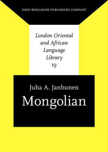 Compare Textbook Prices for Mongolian London Oriental and African Language Library Reprint Edition ISBN 9789027238252 by Janhunen, Juha A.