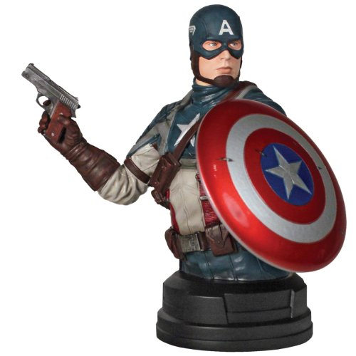 Captain America Movie SDCC 2011 San Diego ComicCon Exclusive Bust Captain America image