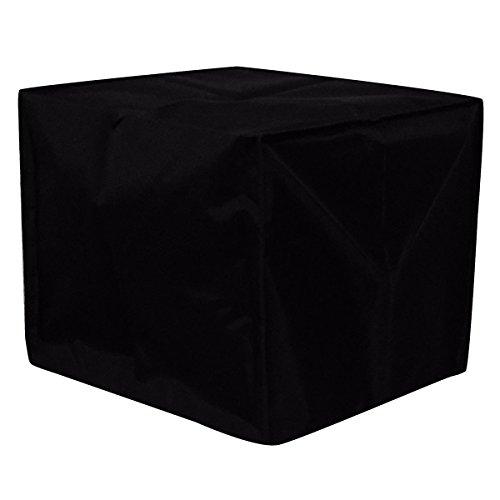 Massunn Stofhoes 43 x 43 x 32 cm, zwart nylon voor 3D-printers.