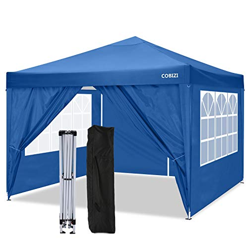 COBIZI Carpa 3x3m Cenador de Fiesta Pop Up Gazebo Impermeable Carpas de...