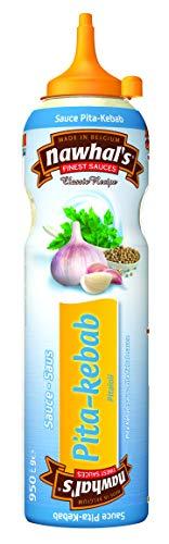 950ml Nawhals Pita-Kebap/ Aioli Sauce, Original Marke Nawhal's / Belgische Saucen