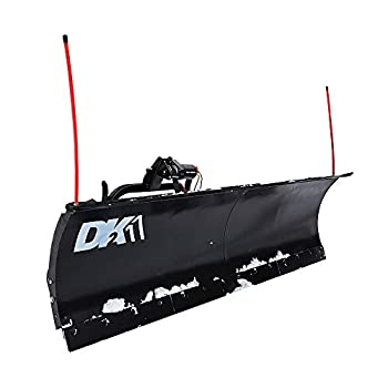DK2 AVAL8422 Universal SUV/Truck Heavy Duty Snow Plow Kit 84 x 19 x 2 Inch Receiver Mount Black