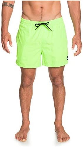Quiksilver Men s Everyday Volley 15 inch Elastic Waist Boardshort Swim Trunk Green Gecko M product image