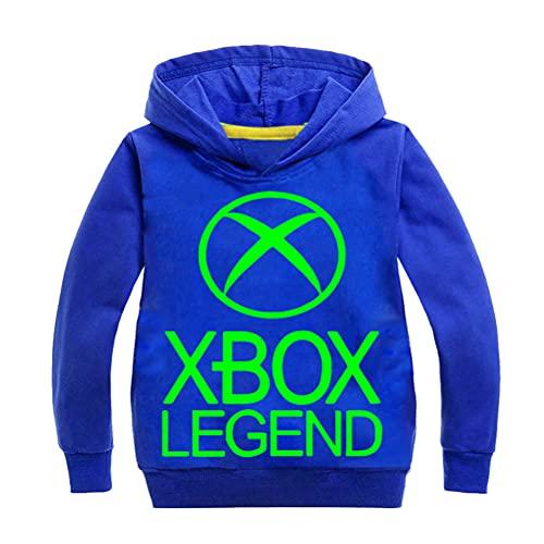 Mmugfdfhf Xbox-Legend Pullover Sudadera Ligera de algodón Suave Chal Abrigos de Estilo...