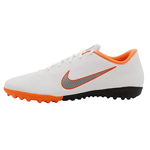 Nike Unisex-Erwachsene Mercurial Vapor X 12 Academy TF AH7384 1 Fußballschuhe, Mehrfarbig (Indigo 001), 39 EU