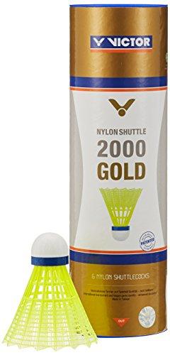 VICTOR Nylon Shuttle 2000 Gold-Gelb-Blau
