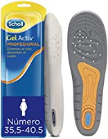 Scholl Plantillas Gel Activ Profesional para mujer, para calzado trabajo, absorción de impactos y amortiguación, talla...