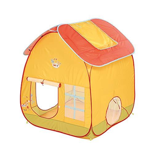 Ludi | 90019 | Maison de jardin | Grande tente de jeu en tissu anti-UV | Système pop up pour une installation rapide | Compacte avec son sac de transport | Fixations au sol | À partir de 2 ans
